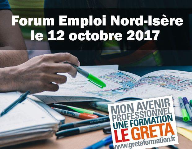 GRETA Nord-Isère – Forum de l'emploi du Nord-Isère – Villefontaine