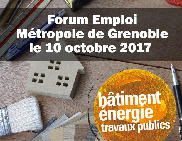 GRETA de Grenoble – Forum emploi secteur Bâtiment – Travaux publics et Eco-construction – Le Pont-de-Claix